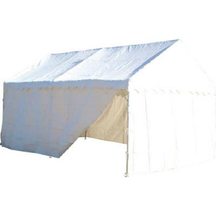 NHTS54S 防災用テント 2間X4間 四方幕付