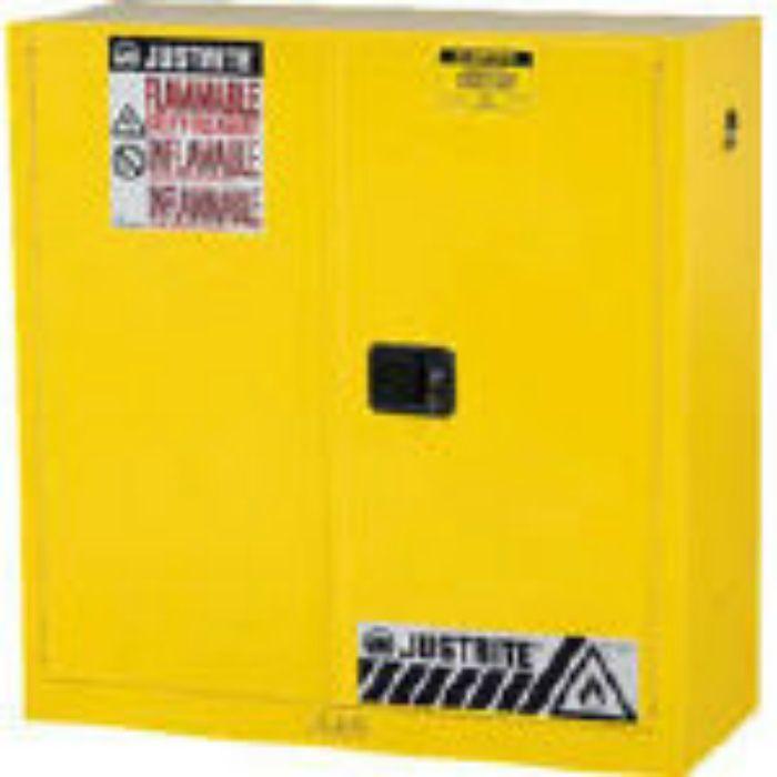 J893020 セーフティキャビネット セルフクローズタイプ 30ガロン 黄