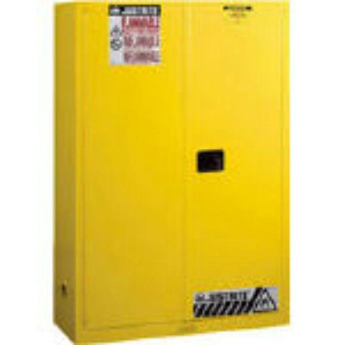 J894500 セーフティキャビネット マニュアルタイプ 45ガロン 黄