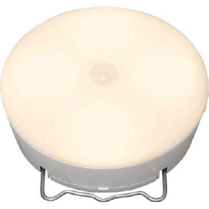 BSL40MLW 乾電池式LED屋内センサーライト ホワイト マルチタイプ 電球色