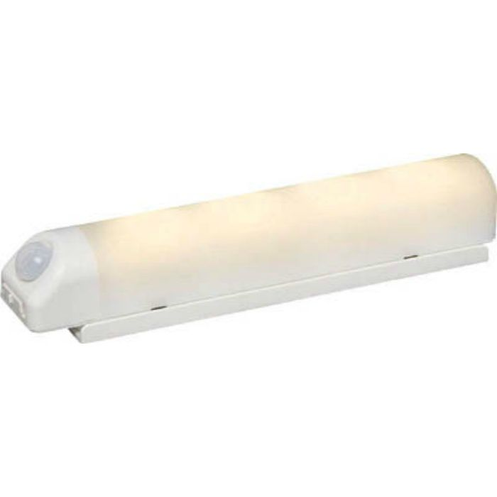 BSL40WLW 乾電池式LED屋内センサーライト ホワイト ウォールタイプ 電球色