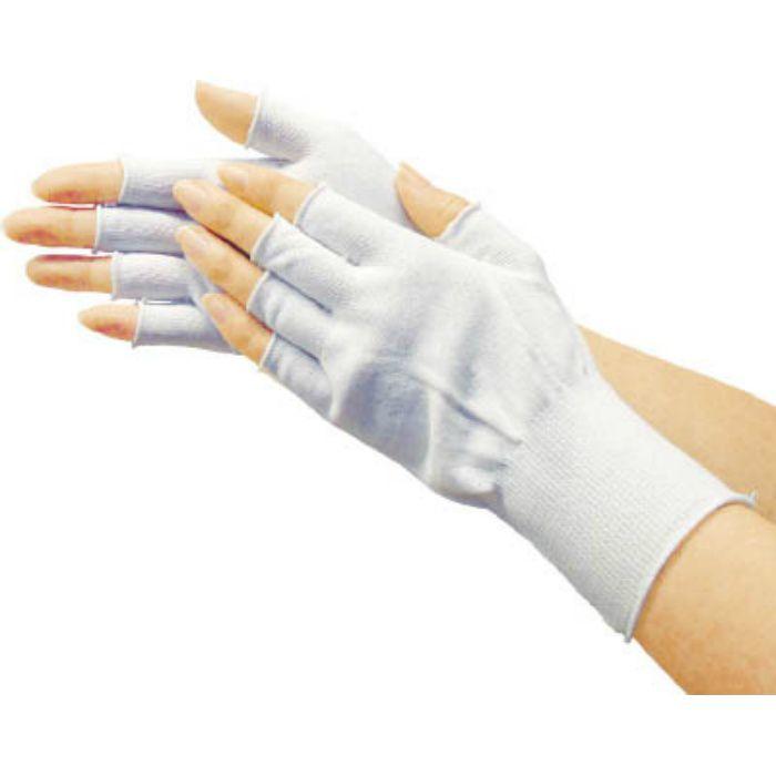 ナイロンインナー手袋ロング(10双入) S TGL3100L10PS 7700521