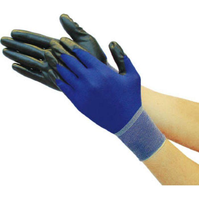 極薄ニトリル背抜き手袋 ロイヤルブルー S TGL2395RBS 7700393