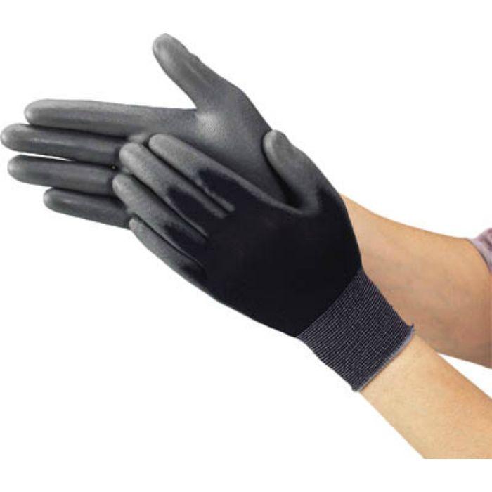ウレタンフィット手袋 黒 Lサイズ TUFGBL 2997576