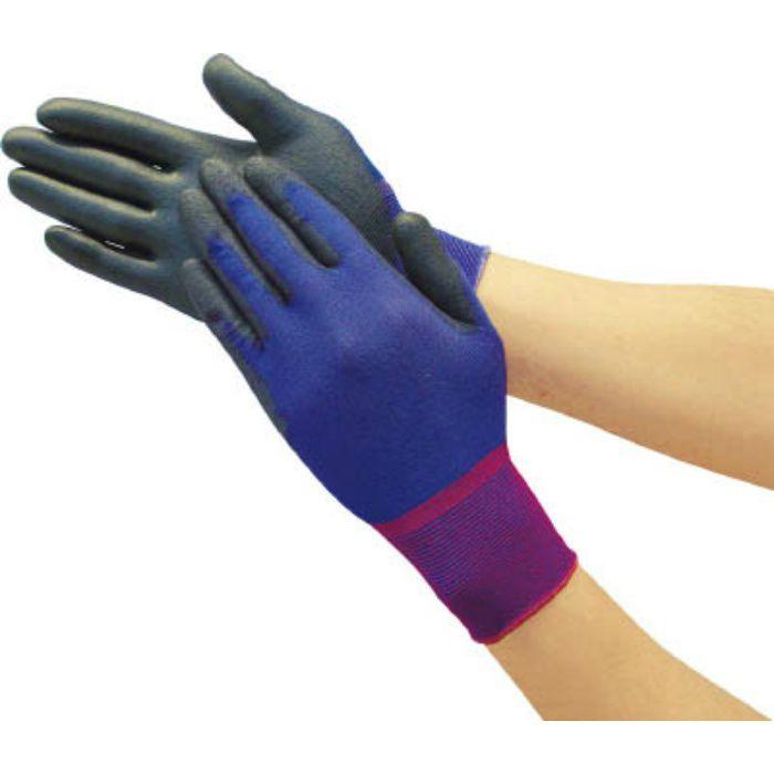 極薄ナイロン手袋PU手のひらコート ロイヤルブルー L TGL2335RBL 7700342