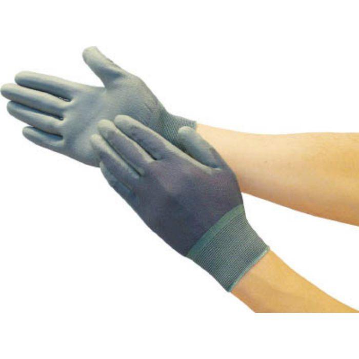 ナイロン手袋PU手のひらコートL TGL3232GYL 7700628