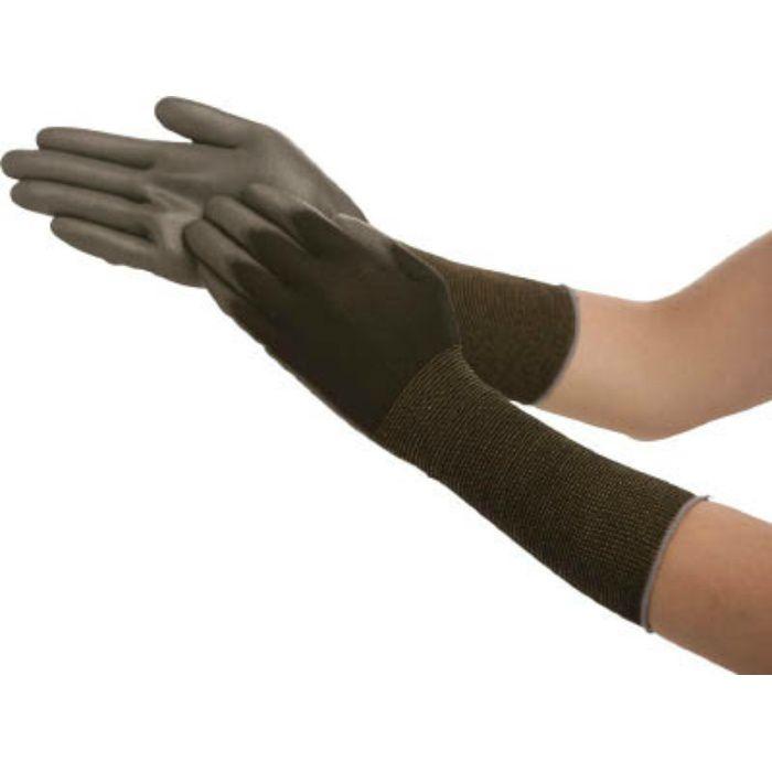 ピッタリ背抜き袖口カバー 黒 Mサイズ NO262MBK