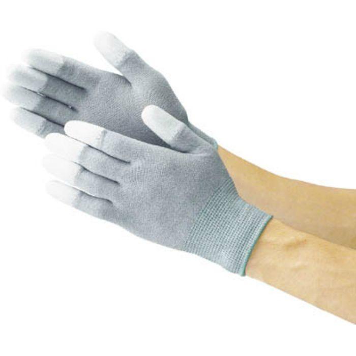 指先コート静電気対策用手袋 Lサイズ TGL2996L 3363635