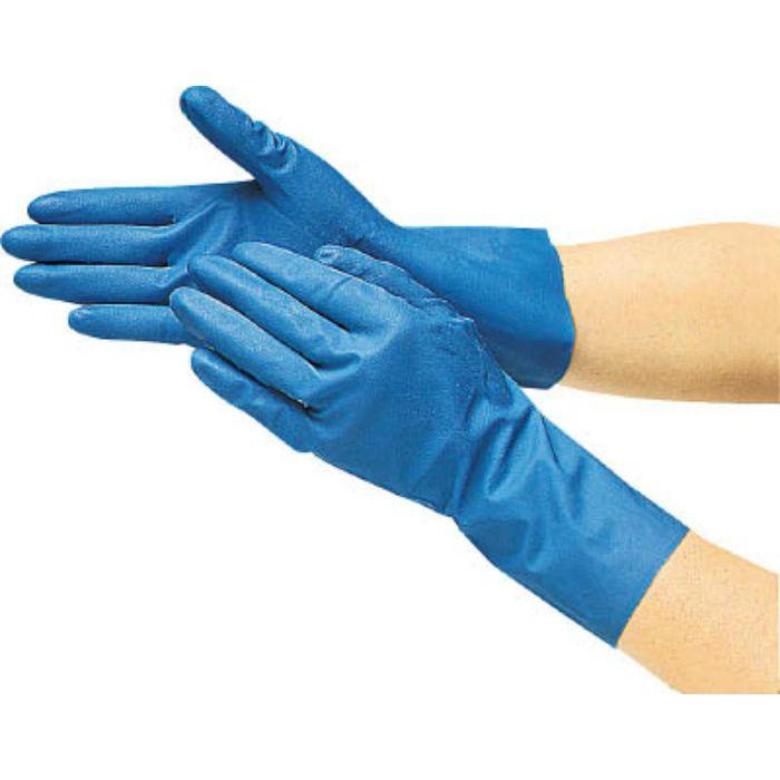 まとめ買い 耐油耐溶剤ニトリル薄手手袋(10双組)Lサイズ DPM236410P 4702760