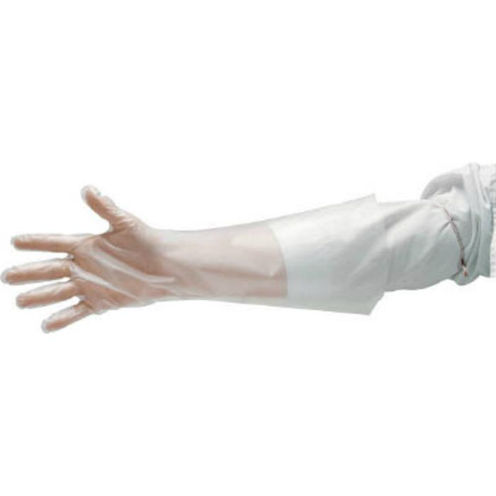 エンボス手袋ロング五本絞りL EL45L