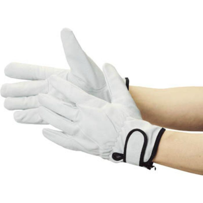 マジック式革手袋 裏地付タイプ Mサイズ TYK717M 2868555