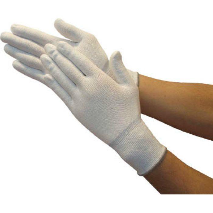 ホワイトHPPEインナー手袋 M TGL5100KM 7700849