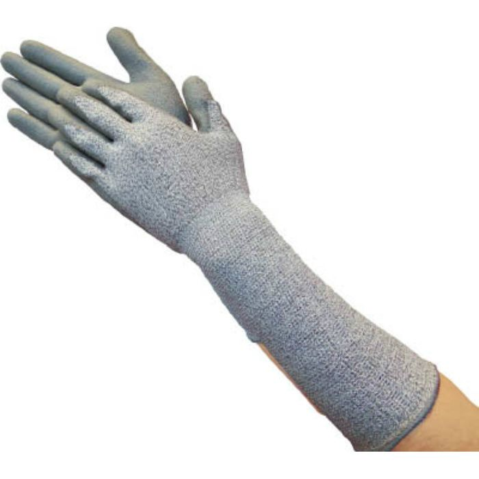 グラスファイバー手袋PU手のひらコートロング L TGL5232ZLL 7708246