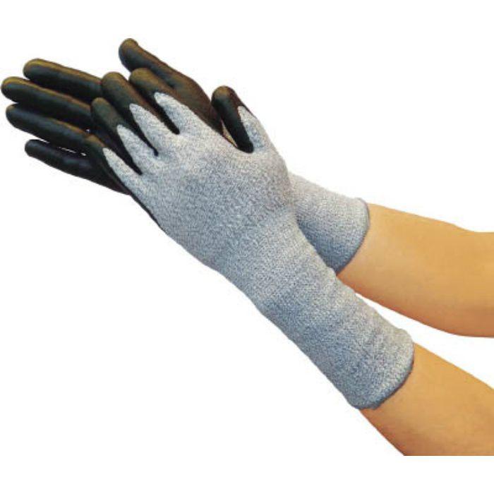 グラスファイバー手袋ニトリル手のひらコートロング L TGL5295ZLL 7700903