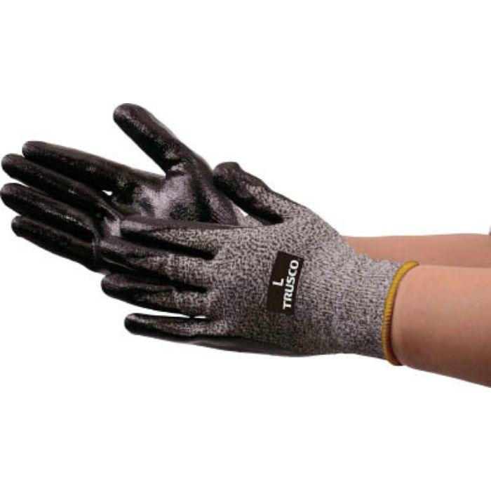 耐切創手袋 NBR #3 L TCRG3NBRL 4372743