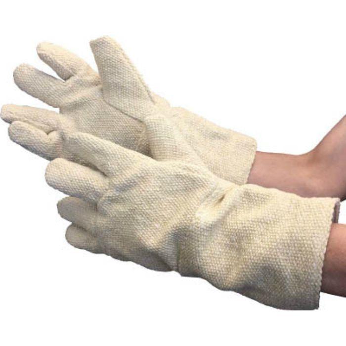 【廃番】セラミック耐熱保護手袋 5本指タイプ フリーサイズ TCAT5 3303578