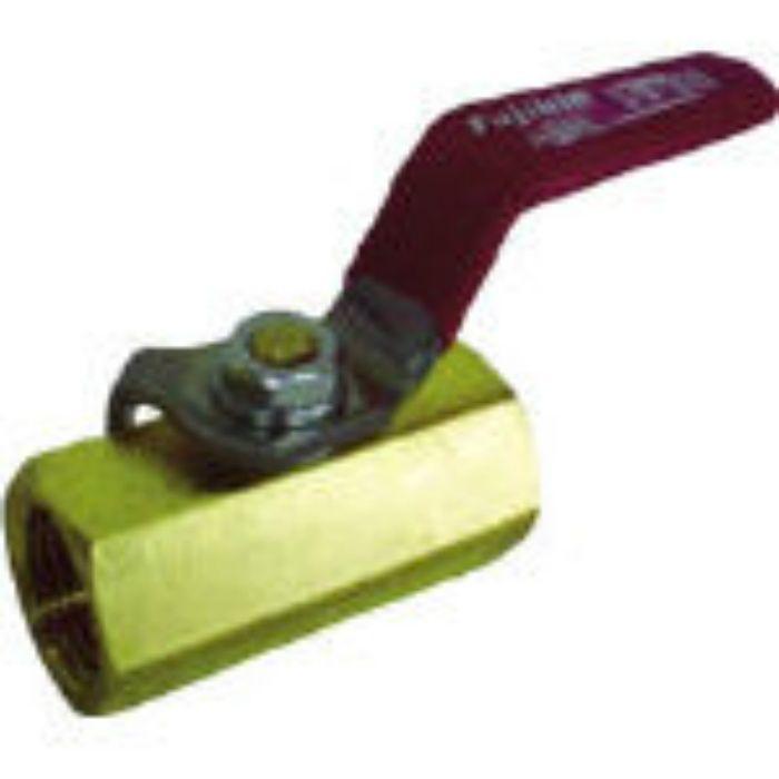 黄銅製1.96MPaミニボール弁20A(3/4) DBV12ER