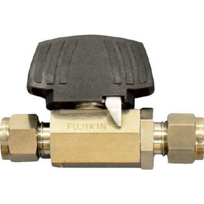 PUBV949.52 ステンレス鋼製3.92MPaパワフル継手付ボール弁