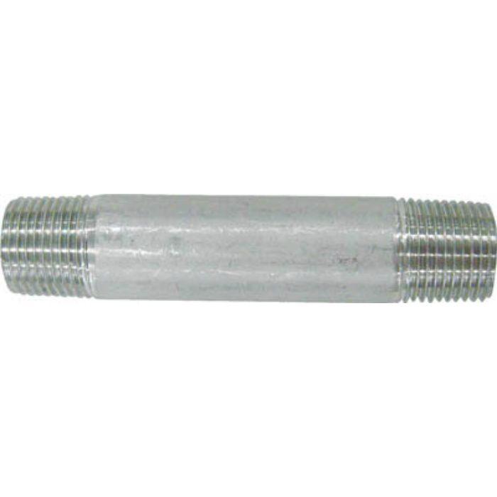 304NL10AX75L 両長ニップル L75mm 呼び径(A)10