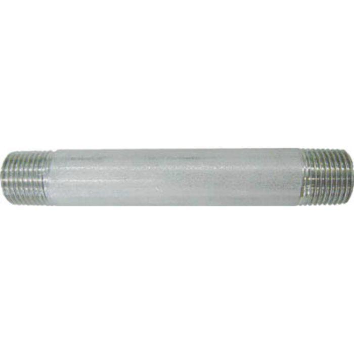 304NL8AX125L 両長ニップル L125mm 呼び径(A)8