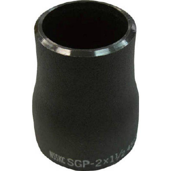 RCSGP50A25A 鋼管製レジューサー 呼び径(A)50×25