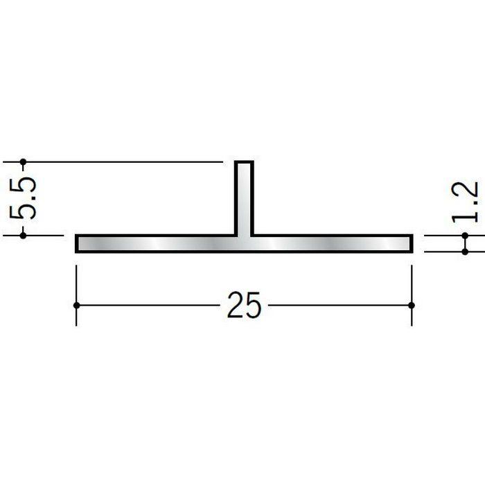 Tバー アルミ Tバー25×5.5 シルバー 3m  53052