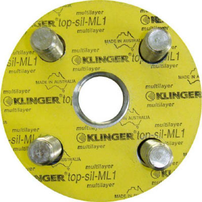 ML110K40A フランジパッキン(5枚入り) ML1-10K-40A