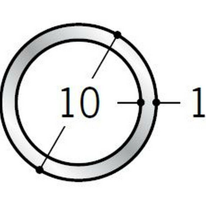 丸パイプ アルミ 丸パイプ10×1 シルバー 1.82m  57996