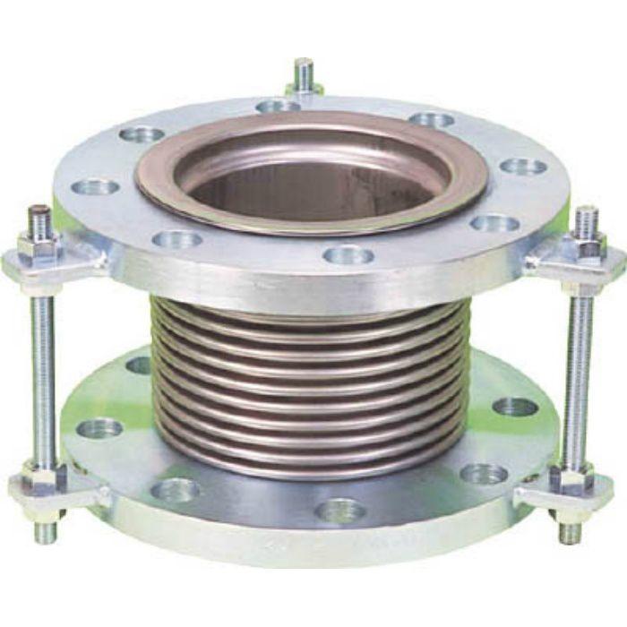 NK7300100200 排気ライン用伸縮管継手 5KフランジSS400 100AX200L