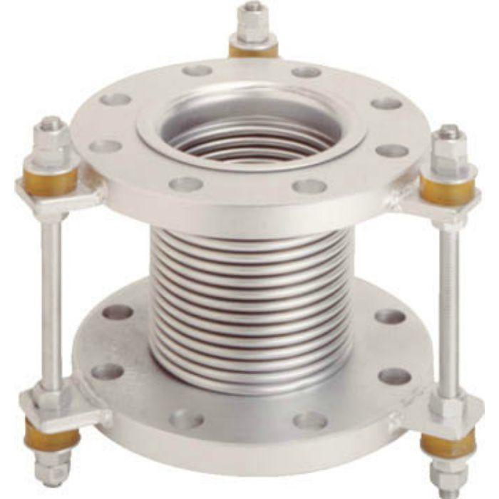 VJ10K100150 フランジ無溶接型防振継手 10K SS400 100AX150L