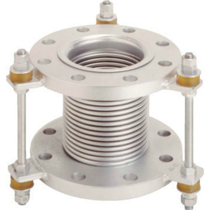VJ10K50150 フランジ無溶接型防振継手 10K SS400 50AX150L
