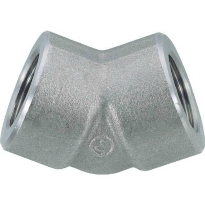 45EPT50A 45°エルボ 45E 50A 炭素鋼 ねじ込み