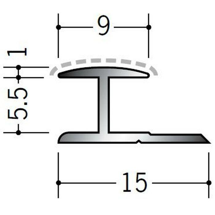 アクリルペイントジョイナー H型 アルミ 5HA カラー カスタムブラック 2.73m  54212-2