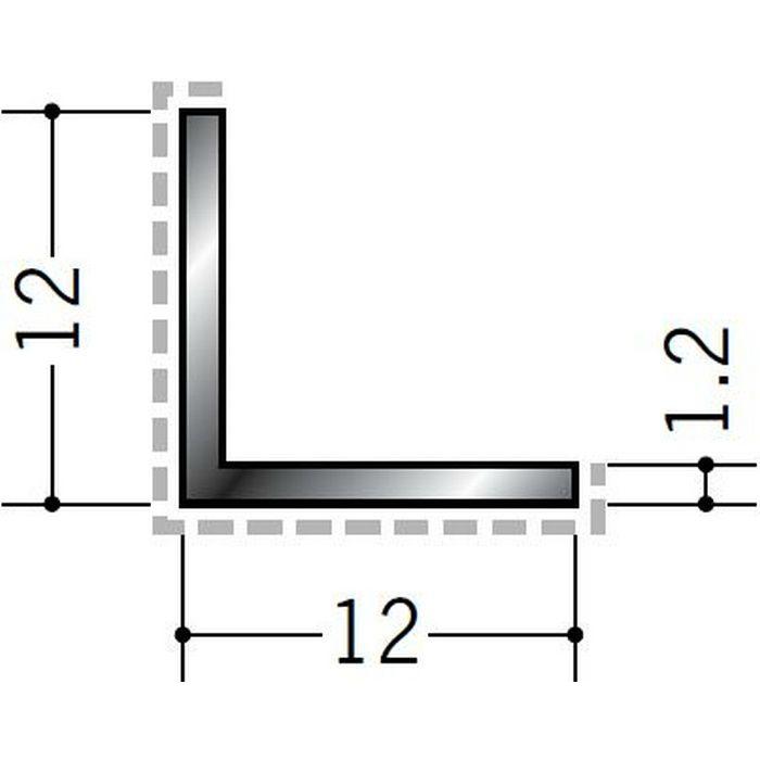 アクリルペイント アングル 出隅用 アルミ カラーL1.2×12×12出隅用 カスタムブラック 3m  29084-2