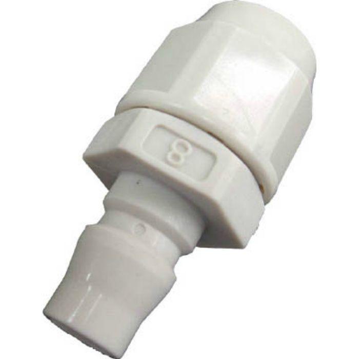 JN8W 樹脂プラグ 適合ホース内径×外径8×12 ホース取付用