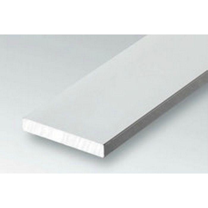 ブラック&ホワイトメタックス 平角・角パイプ・チャンネル アルミ カラー角パイプ40×20BW ホワイトアルマイト1 2.5m  28074-1