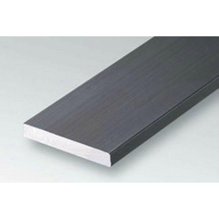 ブラック&ホワイトメタックス 平角・角パイプ・チャンネル アルミ カラーチャンネル35×20BW 電解ブラック 2m  28084-2