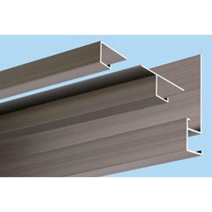 ブロンズメタックス 見切縁 アルミ D型22BRカラー 電解ライトブロンズ 3m  28009-2