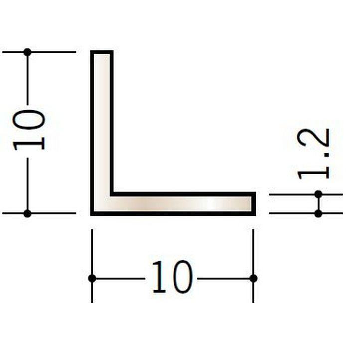 ブロンズメタックス アングル アルミ カラーL1.2×10×10BR 電解ステンカラー 3m  28017-1