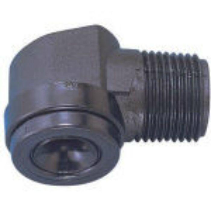 38MAJP08PPS 目詰まり解消形充円錐ノズル PPS樹脂製 3/8 オス 80°