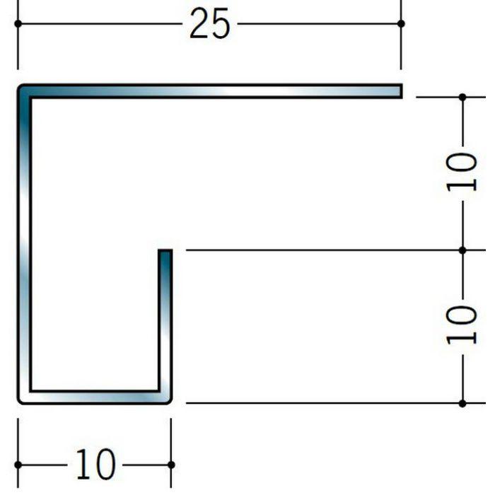 コ型見切縁 ステンレス STC-1010 H.L 3m  20174