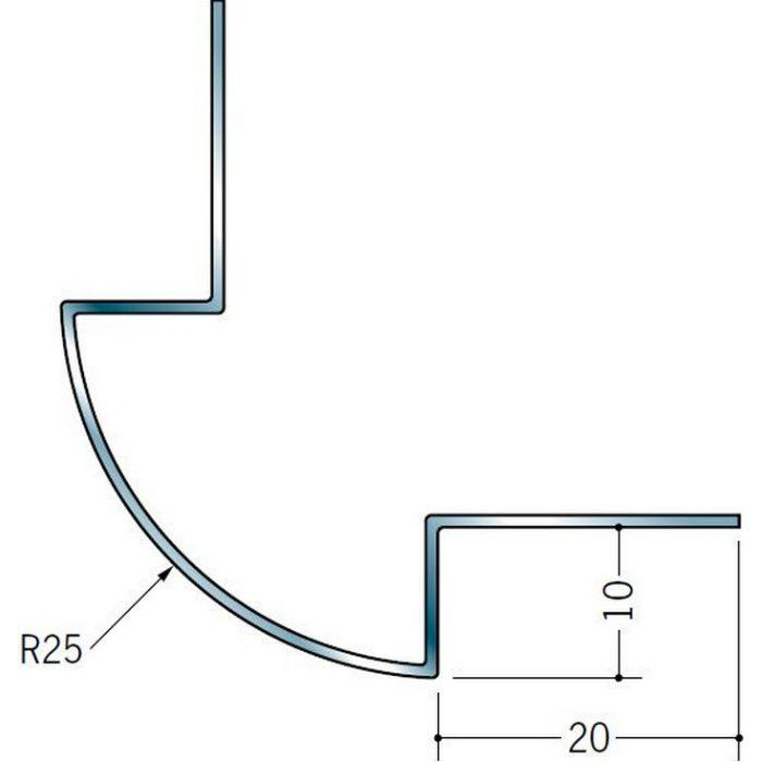 出隅ジョイナー ステンレス DR-925 H.L 2.73m  64056-1