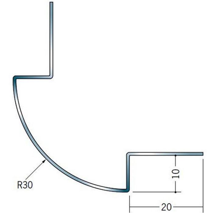 出隅ジョイナー ステンレス DR-930 H.L 2.73m  64065-1