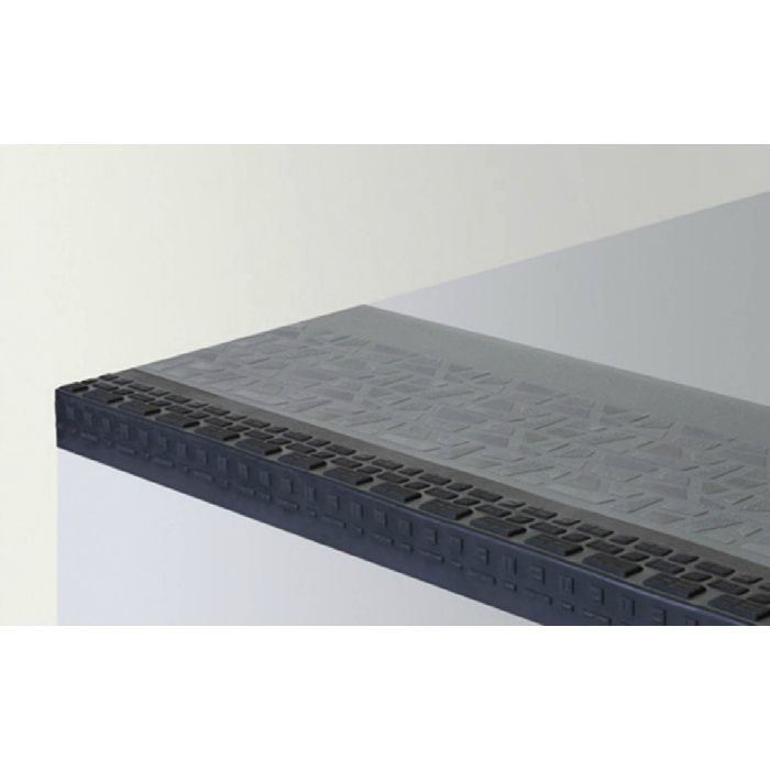 【5%OFF】NPS34201 ポンリューム NPステップ 防滑性階段用床シート 踏み面型 グレー 10枚/ケース