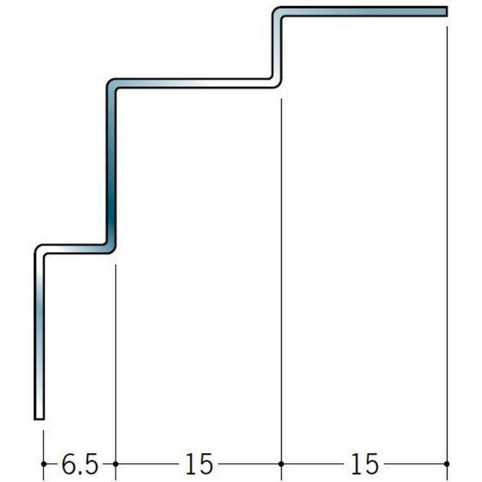入隅ジョイナー ステンレス 角型入隅6.5 鏡面# 800 2.73m  64051-2