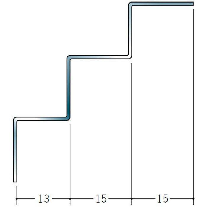 入隅ジョイナー ステンレス 角型入隅12.5 H.L 2.73m  64053-1