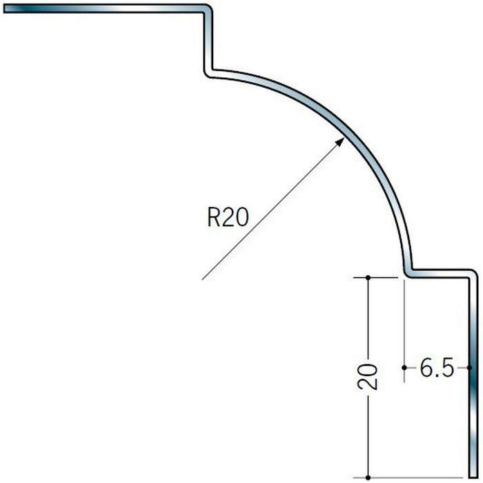 入隅ジョイナー ステンレス IR-620 H.L 2.73m  64071-1