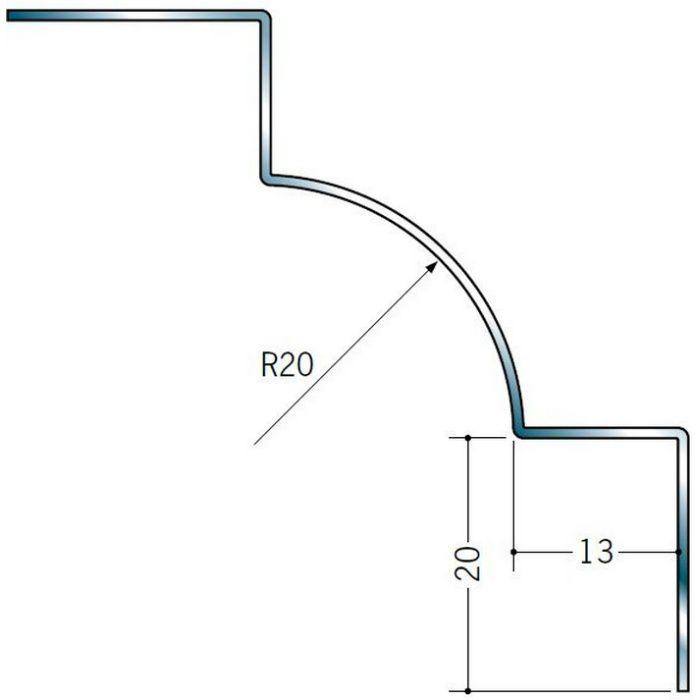 入隅ジョイナー ステンレス IR-1220 H.L 2.73m  64073-1