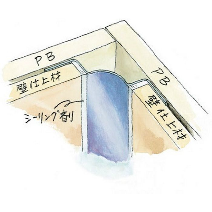 入隅ジョイナー ステンレス IR-1225 H.L 2.73m  64103-1