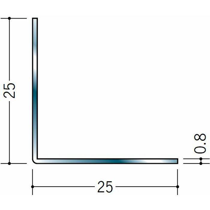 アングル ステンレス アングル0.8x25x25 H.L 3m  20032
